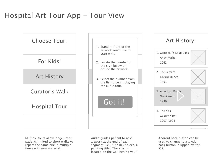Hospital-Art-Tour-App